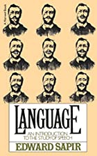 Language: An Introduction to the Study of…