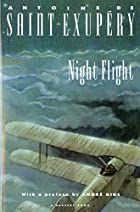 Night Flight by Antoine de Saint-Exupéry