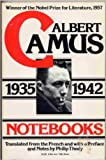 Camus, Albert: Notebooks, 1935-1942