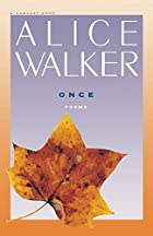 Once (Harvest Book ; Hb 337) by Alice Walker