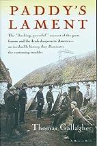Paddy's Lament, Ireland 1846-1847: Prelude…