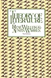 Rene Wellek: Theory Of Literature: New Revised Edition