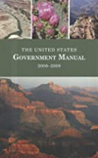 The United States Government Manual,…