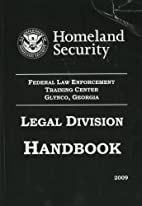 Legal Division handbook by Federal Law…