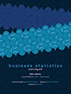 Business Statistics Abridged by Eliyathamby…