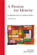 A Passion for Identity by David Taras