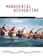 Managerial Accounting by Cecily A. Raiborn