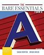 The Bare Essentials Form A (English Writing…