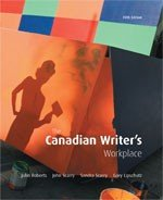 Canadian Writer's Workplace