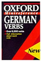 German Verbs (Oxford Minireference) by…