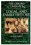 Hey, David: The Oxford Companion to Local and Family History