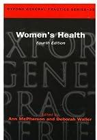 Women's health by Ann McPherson