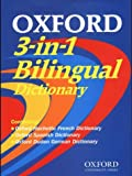 Oxford: Oxford 3-In-1 Bilingual Dictionary CD-ROM
