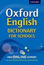 Oxford English Dictionary for Schools by…