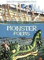 Monster Poems by John Foster