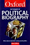 Kavanagh, Dennis: A Dictionary of Political Biography