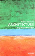 Architecture: A Very Short Introduction by…