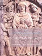 The Oxford Dictionary of the Christian…