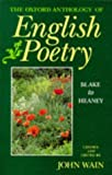 The Oxford Anthology of English Poetry Vol. II Blake to Heaney