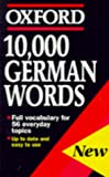 Rowlinson, W.: 10,000 German Words