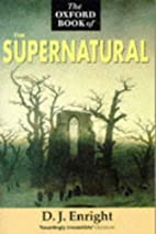 The Oxford Book of the Supernatural by D. J.…