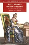 Salzman, Paul: Early Modern Women&#39;s Writing