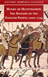 Greenway, Diana: The History of the English People, 1000-1154: Henry of Huntingdon