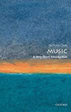 Music: A Very Short Introduction by Nicholas…