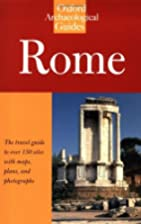 Rome: An Oxford Archaeological Guide by…