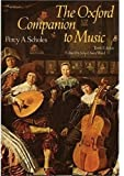 Scholes, Percy Alfred: The Oxford Companion to Music