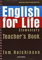 English for Life Elementary Teachers P by…