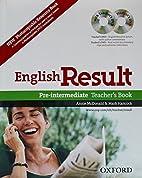 English Result Pre-intermediate: Teacher's…