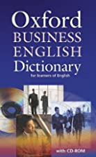 Oxford Business English Dictionary for…