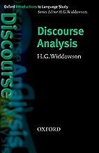 Discourse Analysis by Henry Widdowson