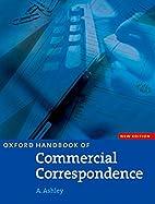 Oxford Handbook of Commercial Correspondence…