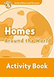 Collectif: Oxford Read and Discover: Level 5: 900-Word Vocabulary Homes Around the World Activity Book