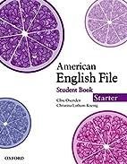 American English File Starter Student Book…