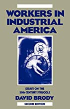 Workers in Industrial America: Essays on the…