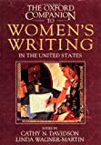 Davidson, Cathy N.: The Oxford Companion to Women&#39;s Writing in the United States