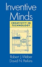 Inventive Minds: Creativity in Technology by…