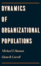 Dynamics of Organizational Populations:…