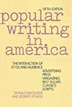 Popular Writing in America: The Interaction…
