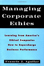 Managing Corporate Ethics: Learning from…