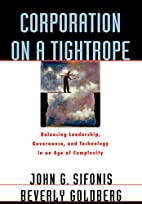 Corporation on a Tightrope: Balancing…