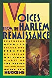 Huggins, Nathan Irvin: Voices from the Harlem Renaissance