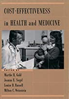 Cost-Effectiveness in Health and Medicine by…