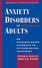 Anxiety Disorders in Adults: An…