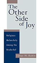 The Other Side of Joy: Religious Melancholy…