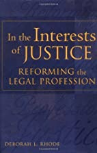 In the Interests of Justice: Reforming the…