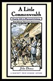 Demos, John: A Little Commonwealth: Family Life in Plymouth Colony